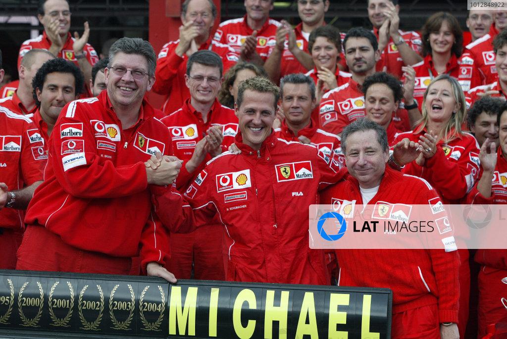 2004 Belgian Grand Prix - Sunday Race,