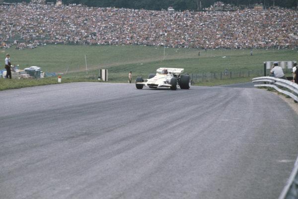 1971 Austrian Grand Prix.  Osterreichring, Zeltweg, Austria. 13-15th August 1971.  Jo Siffert, BRM P160, 1st position.  Ref: 71AUT03. World Copyright: LAT Photographic