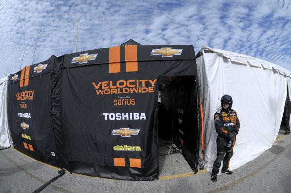 2014 TUDOR United Sportscar Championship Rolex 24 Hours Daytona 23-26 January, 2014, Daytona Beach, Florida USA All clear outside the Wayne Taylor Racing pit box. ©2014, Paul Webb LAT Photo USA
