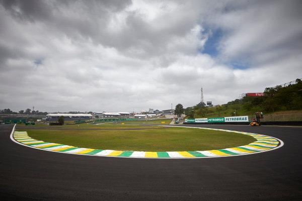 Interlagos, Sao Paulo, Brazil. Thursday 6 November 2014. A view of the track. World Copyright: Steve Etherington/LAT Photographic. ref: Digital Image SNE15169