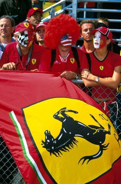 Ferrari fans.