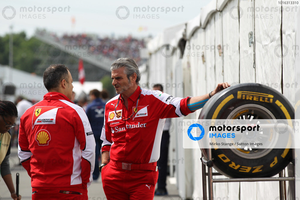 Maurizio Arrivabene (ITA) Ferrari Team Principal at Formula One World Championship, Rd7, Canadian Grand Prix, Race, Montreal, Canada, Sunday 7 June 2015.
