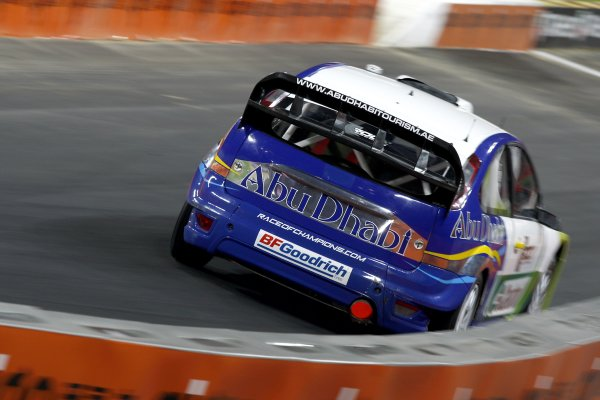 2007 Race of Champions - SaturdayWembley Stadium, London. 14th December.Ford Focus WRC in action.World Copyright: Malcolm Griffiths/LAT Photographicref: Digital Image _H0Y2115