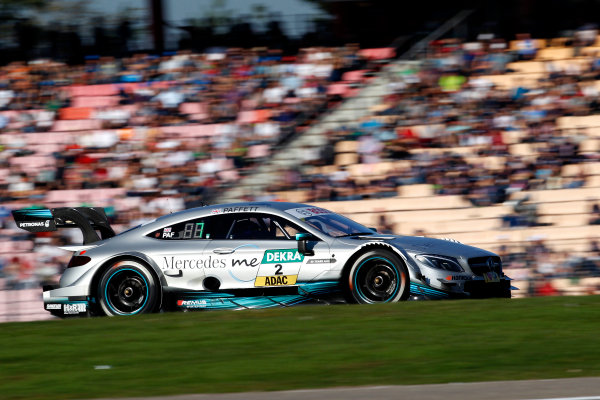 2017 DTM Round 9  Hockenheimring, Germany  Sunday 15 October 2017. Gary Paffett, Mercedes-AMG Team HWA, Mercedes-AMG C63 DTM  World Copyright: Alexander Trienitz/LAT Images ref: Digital Image 2017-DTM-HH2-AT3-2398