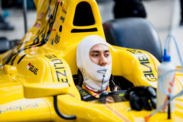 2017 FIA Formula 2 Round 9. Autodromo Nazionale di Monza, Monza, Italy. Friday 1 September 2017. Sean Gelael (INA, Pertamina Arden).  Photo: Zak Mauger/FIA Formula 2. ref: Digital Image _54I6046