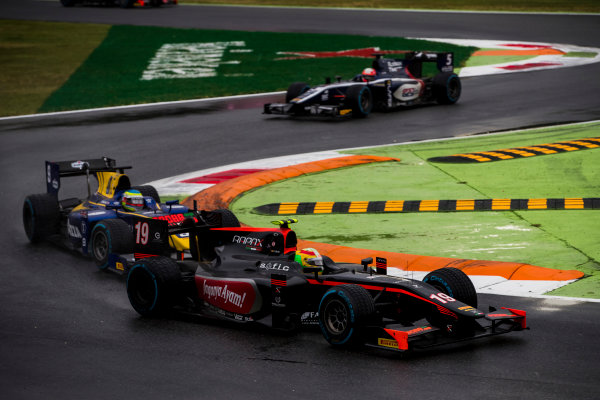 2017 FIA Formula 2 Round 9. Autodromo Nazionale di Monza, Monza, Italy. Saturday 2 September 2017. Roberto Merhi (ESP, Rapax).  Photo: Zak Mauger/FIA Formula 2. ref: Digital Image _56I8152