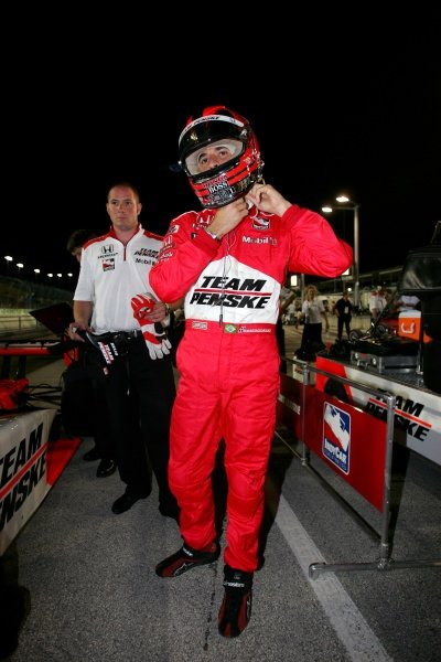 Helio Castroneves (BRA), Team Penske.