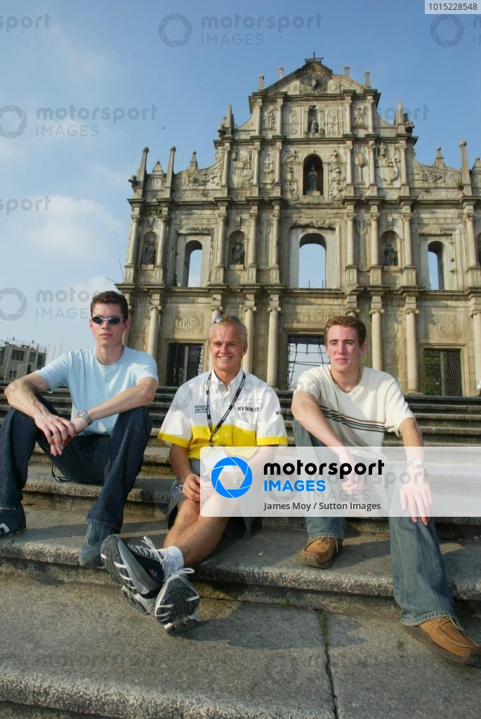 Macau Formula Three Grand Prix.