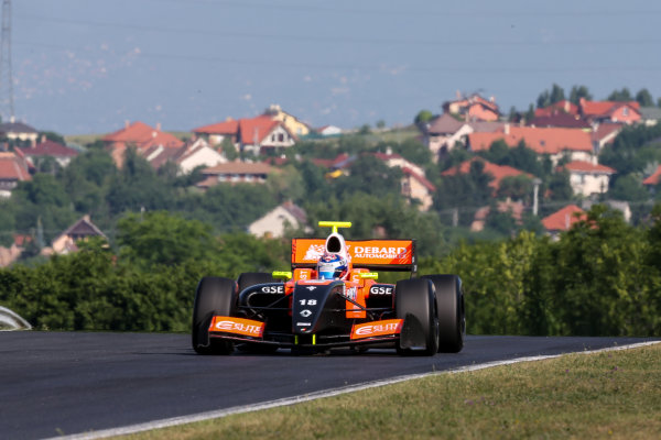 BUDAPEST (HUN) JUNE 12-14 2015 World  series by Renault 2015 at the Hungaroring Aurelien Panis #18 Tech 1 racing. Action. © 2015 Klaas Norg / Dutch Photo Agency / LAT Photographic