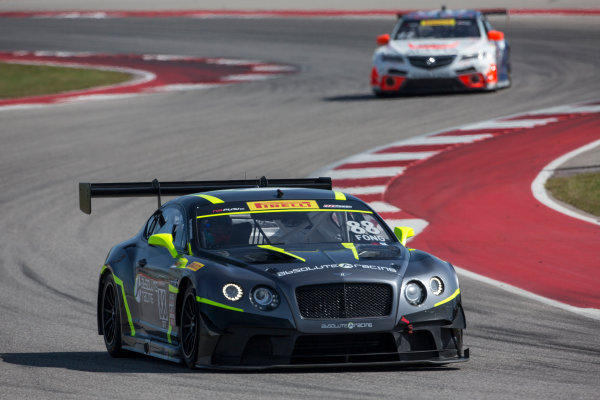 4-6 March, 2016, Austin, Texas USA #88 Bentley, Adderly Fong ?2016, Brian Cleary LAT Photo USA