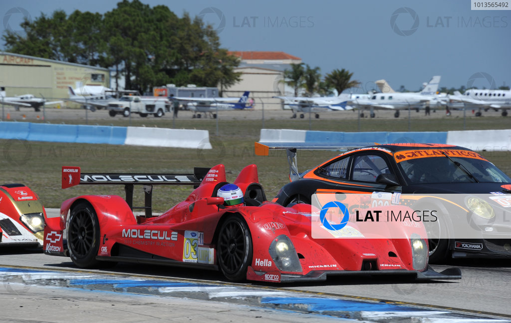 14-19 March 2011. Sebring, Florida USA#036 Genoa Racing Oreca FLM09©2011 Dan R. Boyd LAT Photo USA