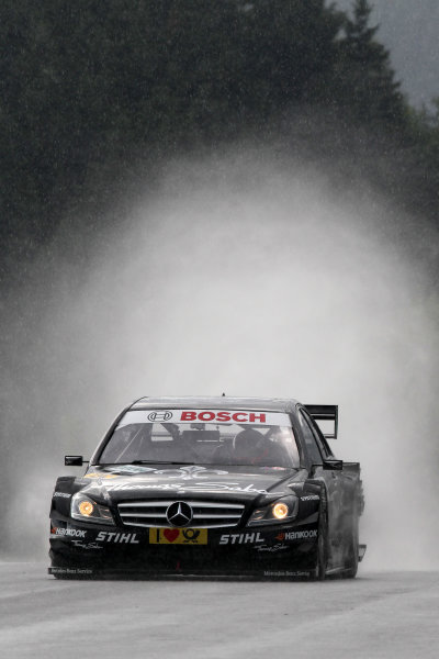 Gary Paffett (GBR), Thomas Sabo AMG Mercedes.DTM, Rd3, Red Bull Ring, Spielberg, Austria. 3-5 June 2011.World Copyright: LAT Photographicref: Digital Image dne1103ju50