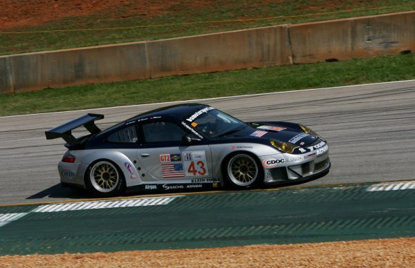 Sascha Maassen (GER) BAM! Porsche 911 GT3-RSR.American Le Mans Series, Rd2, Road Atlanta, USA, 17 April 2005.DIGITAL IMAGE