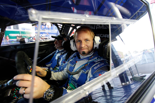 2012 FIA World Rally Championship Round 13-Rally Spain 08-11September 2012. Petter Solberg, Ford WRC, Portrait.. Worldwide Copyright: McKlein/LAT