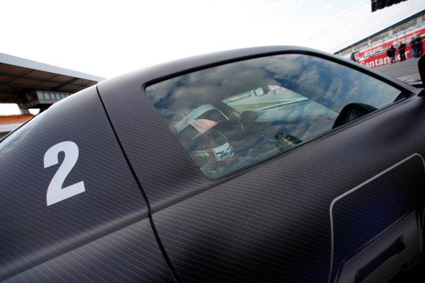 Hockenheimring, Hockenheim, Germany24th July 2010Timo Glock, Virgin VR-01 Cosworth. Portrait. Helmets. Atmosphere.World Copyright: Glenn Dunbar/LAT Photographicref: Digital Image GD5D4340