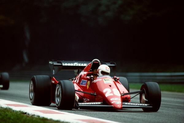 1983 Italian Grand Prix  Monza, Italy. 9-11 September 1983.  Ren? Arnoux, Ferrari 126C3, 2nd.  Ref: 83ITA08. World Copyright: LAT Photographic