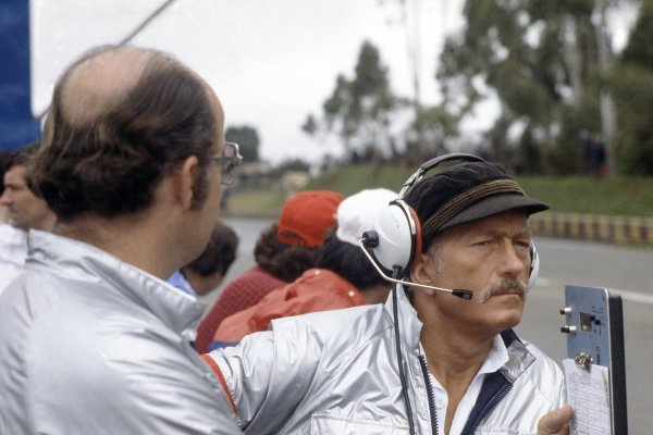 1980 Brazilian Grand Prix.Interlagos, Sao Paulo, Brazil. 25-27 January 1980.Colin Chapman (Team Owner, Essex Team Lotus). Portrait.World Copyright: LAT PhotographicRef: 35mm transparency 80BRA10