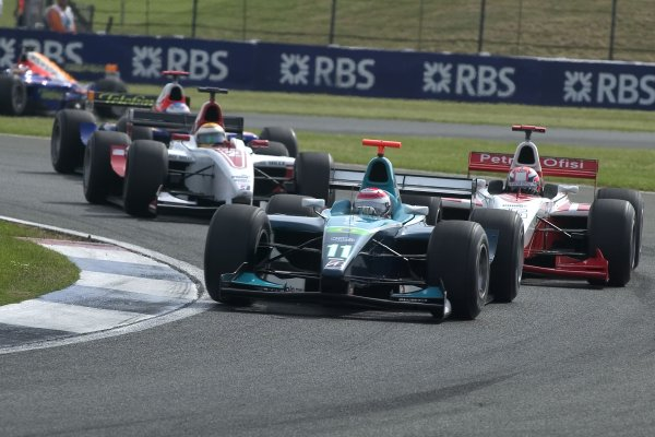2006 GP2 Series Round 6. Silverstone, England. 11th June 2006. Sunday race. Nelson Piquet Jr. (BRA, Piquet Sports). Action.  World Copyright: Alastair Staley/GP2 Series Media Service. Ref: Digital Image Only F0AA0155