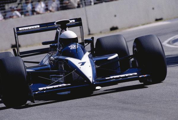 1990 Australian Grand Prix.Adelaide, Australia.2-4 November 1990.David Brabham (Brabham BT59 Judd).Ref-90 AUS 39.World Copyright - LAT Photographic