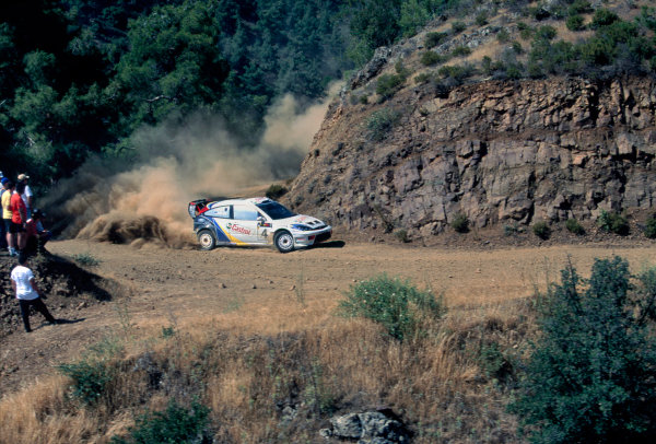 2003 World Rally ChampionshipRally of Cyprus, Cyprus. 19th - 22nd June 2003.Marrko Martin/Michael Park (Ford Focus RS WRC 3), action.World Copyright: McKlein/LAT Photographicref: 03WRCCyprus01