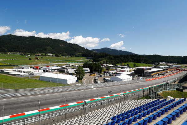 Red Bull Ring, Spielberg, Austria. Thursday 06 July 2017. A scenic view of the first corner. World Copyright: Steven Tee/LAT Images ref: Digital Image _O3I4047