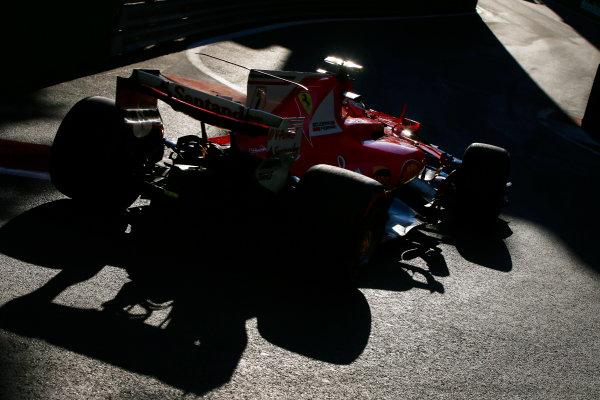 Baku City Circuit, Baku, Azerbaijan. Friday 23 June 2017. Kimi Raikkonen, Ferrari SF70H.  World Copyright: Andy Hone/LAT Images ref: Digital Image _ONY9207