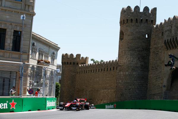 Baku City Circuit, Baku, Azerbaijan. Saturday 24 June 2017. Alexander Albon (THA, ART Grand Prix)  World Copyright: Hone/LAT Images ref: Digital Image _ONY9674