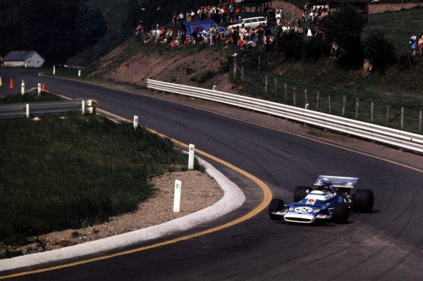 1970 Belgian Grand Prix.Spa-Francorchamps, Belgium.5-7 June 1970.Jean-Pierre Beltoise (Matra-Simca MS120) 3rd position.Ref-70 BEL 06.World Copyright - LAT Photographic