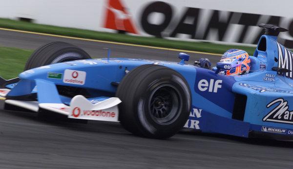 Australian Grand Prix.Albert Park, Melbourne, Australia. 2-4 March 2001.Jenson Button (Benetton B201 Renault).World Copyright - Steve Etherington/LAT Photographicref: 18MB Digital Image
