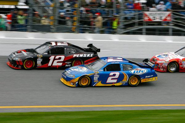 11 February, 2010, Daytona Beach, Florida USAKurt Busch and Brad Keselowski©2010, LAT South, USALAT Photographic