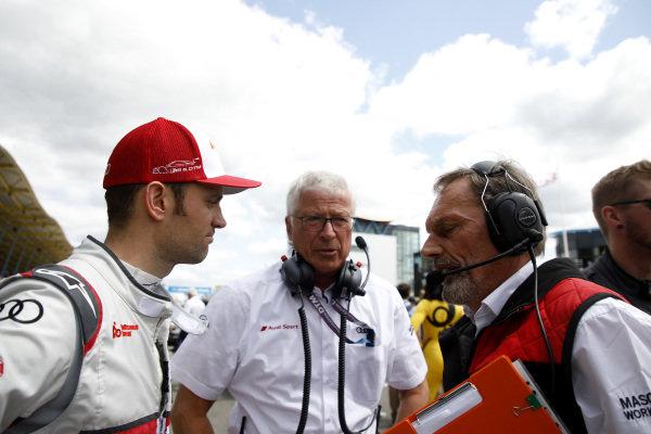 Jamie Green, Audi Sport Team Rosberg with Arno Zensen, Audi Sport Team Rosberg.