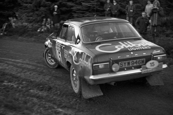 Markku Alen / Paul White, Ford Escort RS 1600 MK1.