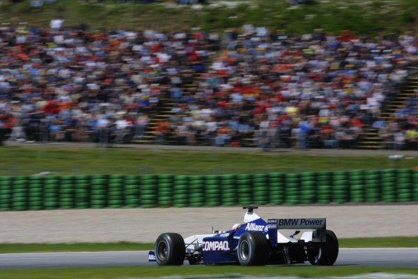 2001 Austrian Grand Prix.A1-Ring, Zeltweg, Austria.11-13 May 2001.Juan-Pablo Montoya (Williams FW23 BMW).World Copyright - LAT Photographicref: 8 9 MB Digital