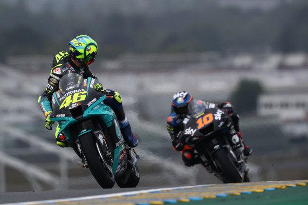 Valentino Rossi, Petronas Yamaha SRT, Luca Marini, Esponsorama Racing.