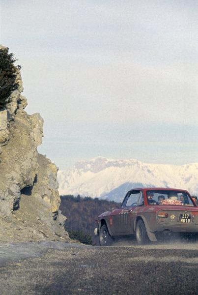 Lancia Fulvia coupe.