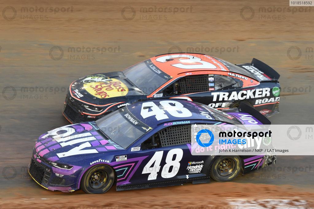 #48: Alex Bowman, Hendrick Motorsports, Chevrolet Camaro Ally, #3: Austin Dillon, Richard Childress Racing, Chevrolet Camaro Bass Pro Shops/Tracker Off Road