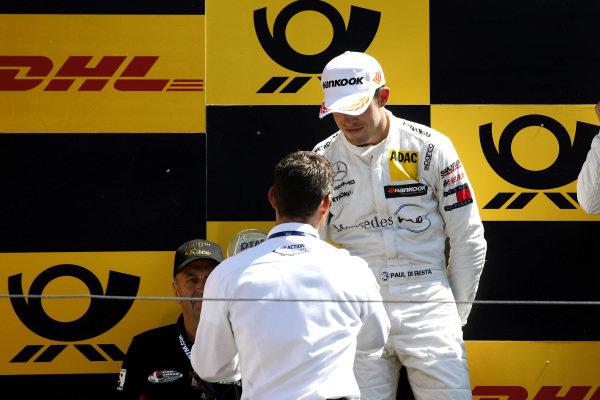 Podium: second place Paul Di Resta, Mercedes-AMG Team HWA and Pierre Kaffer.