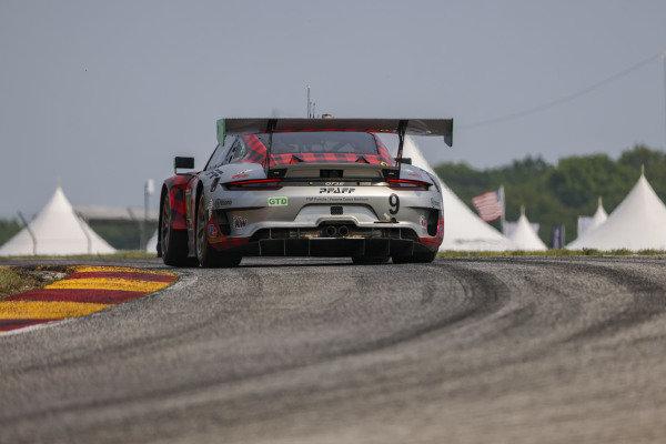 #9: Pfaff Motorsports Porsche 911 GT3R, GTD: Zacharie Robichon, Laurens Vanthoor, winner