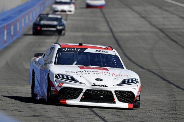 #19: Brandon Jones, Joe Gibbs Racing, Toyota Supra Toyota Service Centers