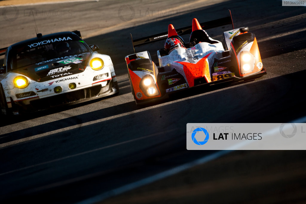 American Le Mans Series. Laguna Seca, Monterey, California. 15th - 17th September 2011. Kyle Marcelli / Chapman Ducote / David Ducote, Intersport Racing, Oreca FLM09. Action. Photo: Drew Gibson/LAT Photographic. ref: Digital Image _Y2Z6768