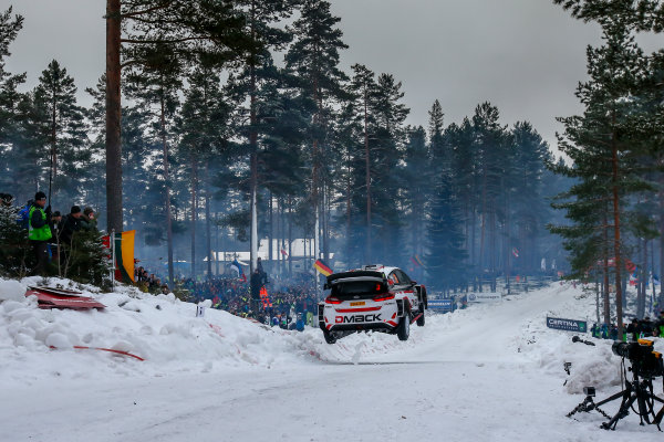 2017 FIA World Rally Championship, Round 02, Rally Sweden, February 09-12, 2017, Elfyn Evans, Ford, Action, Worldwide Copyright: McKlein/LAT