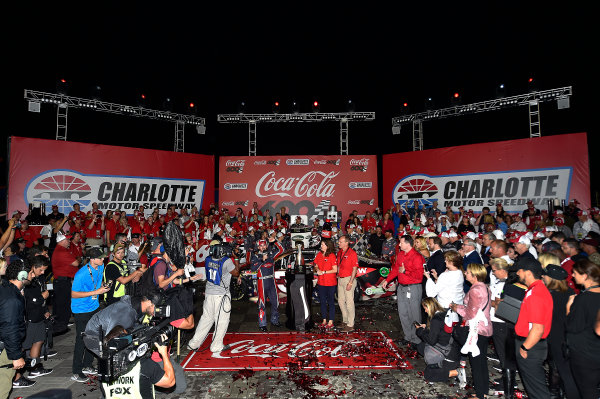 Monster Energy NASCAR Cup Series Coca-Cola 600 Charlotte Motor Speedway, Concord, NC USA Monday 29 May 2017 Austin Dillon, Richard Childress Racing, Dow Salutes Veterans Chevrolet SS World Copyright: Rusty Jarrett LAT Images ref: Digital Image 17CLT2rj_10479