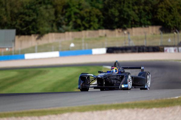 FIA Formula E Season 3 Testing - Day Two. Donington Park Racecourse, Derby, United Kingdom. Sebastien Buemi, Renault e.Dams, Spark-Renault. Wednesday 24 August 2016. Photo: Adam Warner / LAT / FE. ref: Digital Image _L5R0347