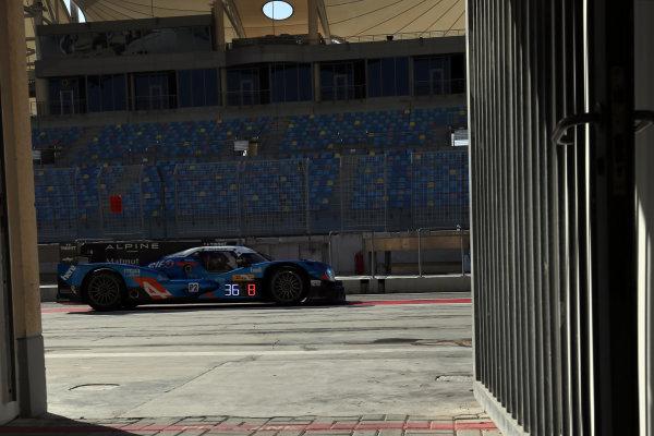 2016 FIA World Endurance Championship Rookie Test, Bahrain International Circuit, 20th November 2016, Thomas LAURENT - Signatech Alpine A460-Nissan World Copyright. Jakob Ebrey/LAT Photographic