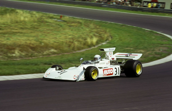 Jochen Mass (GER) Surtees TS14A finished an impressive seventh on his first official GP start, following his involvement in the huge crash at the beginning of the British GP that meant he did not take the restart.
