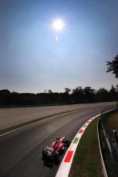 Autodromo Nazionale di Monza, Monza, Italy. 7th September 2012. Felipe Massa, Ferrari F2012.  World Copyright: Steve Etherington/LAT Photographic ref: Digital Image SNE14747 copy