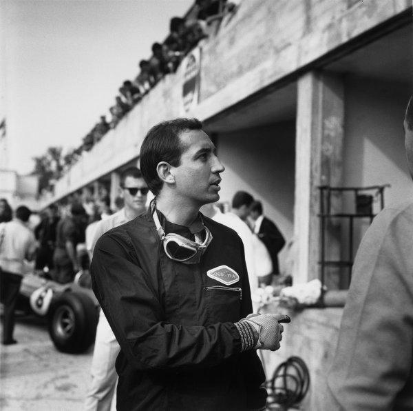 Monza, Italy. 6th September 1964. Rd 8.Mario Araujo de Cabral (Derrington-Francis-ATS), retired, portrait. World Copyright: LAT Photographic.Ref:  26533.