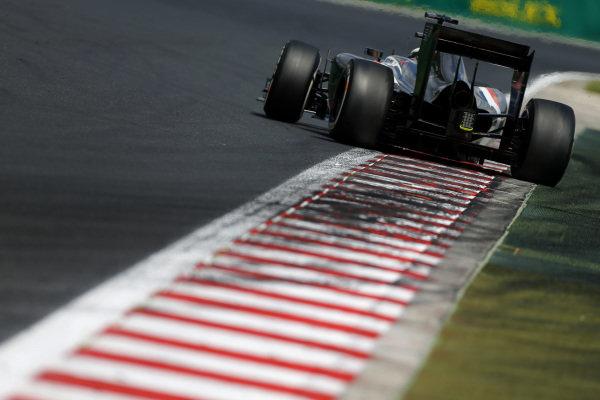 Adrian Sutil (GER) Sauber C33. Formula One World Championship, Rd11, Hungarian Grand Prix, Qualifying, Hungaroring, Hungary. Saturday 26 July 2014.  BEST IMAGE