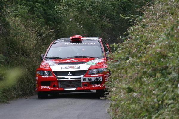 Manx International Rally 2008, 17th-19th July 2008Guy Wilks/Phillip Pugh Mitsubishi Evo 9 World Copyright: Ebrey/LAT Photographic