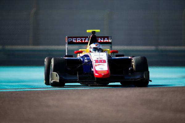 2017 GP3 Series Test 5. Yas Marina Circuit, Abu Dhabi, United Arab Emirates. Thursday 30 November 2017. Giuliano Alesi (FRA, Trident).  Photo: Joe Portlock/GP3 Series Media Service. ref: Digital Image _L5R2393